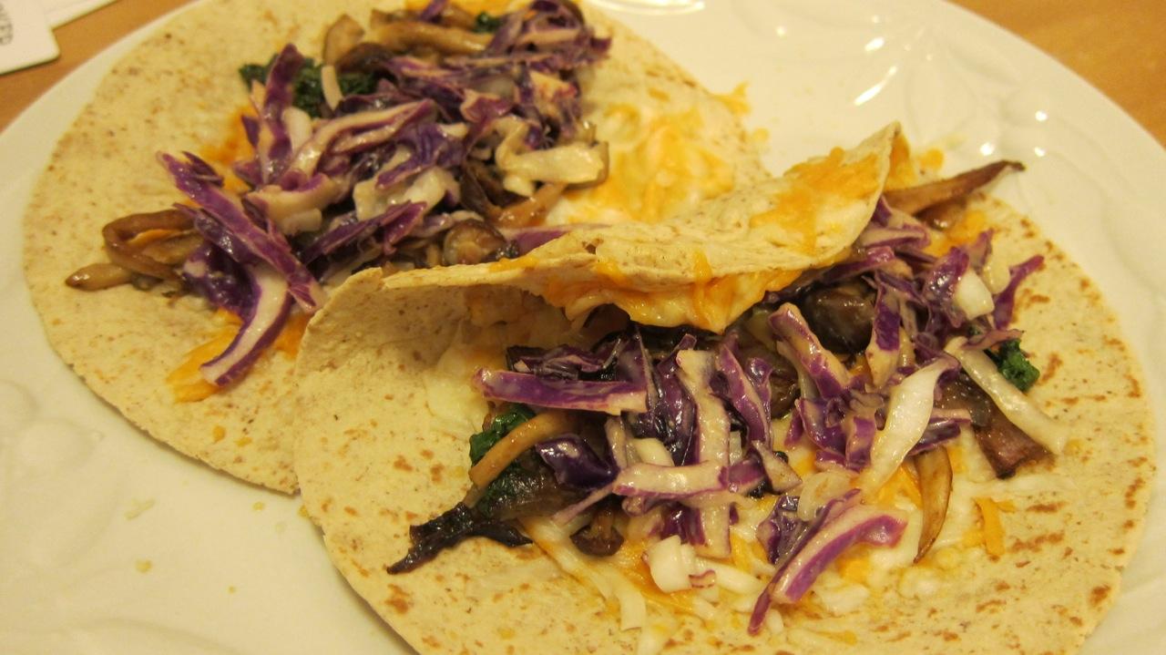 Baja Style Vegan Soft Tacos