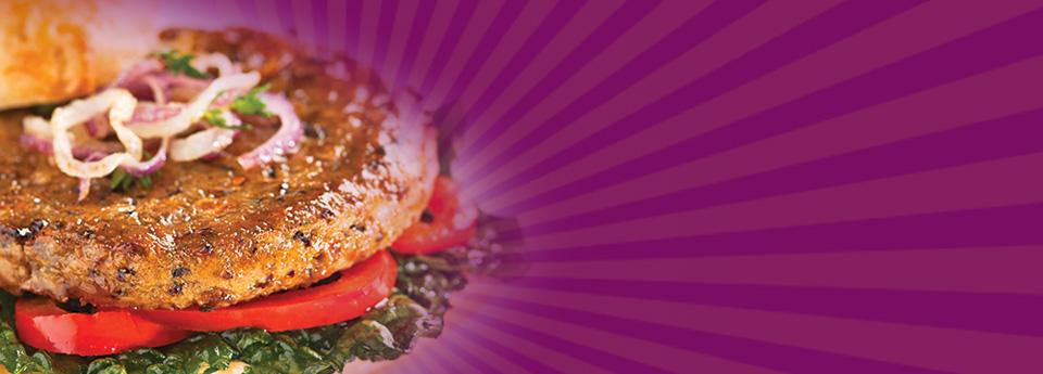 Sunshine Burger - Mushroom Burger