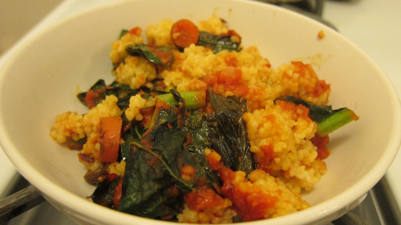 Couscous and Veggie Bake