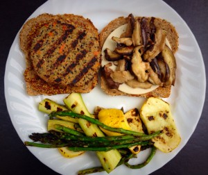 06152014 Shiitake Swiss with Grilled Vegetables 2