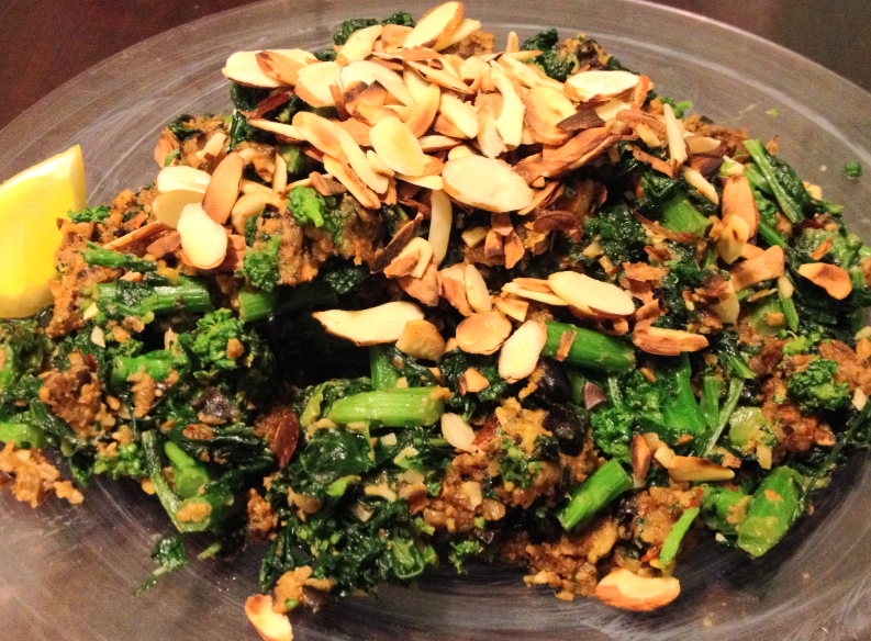 Loco Chipotle Sauté and Spicy Broccoli Rabe
