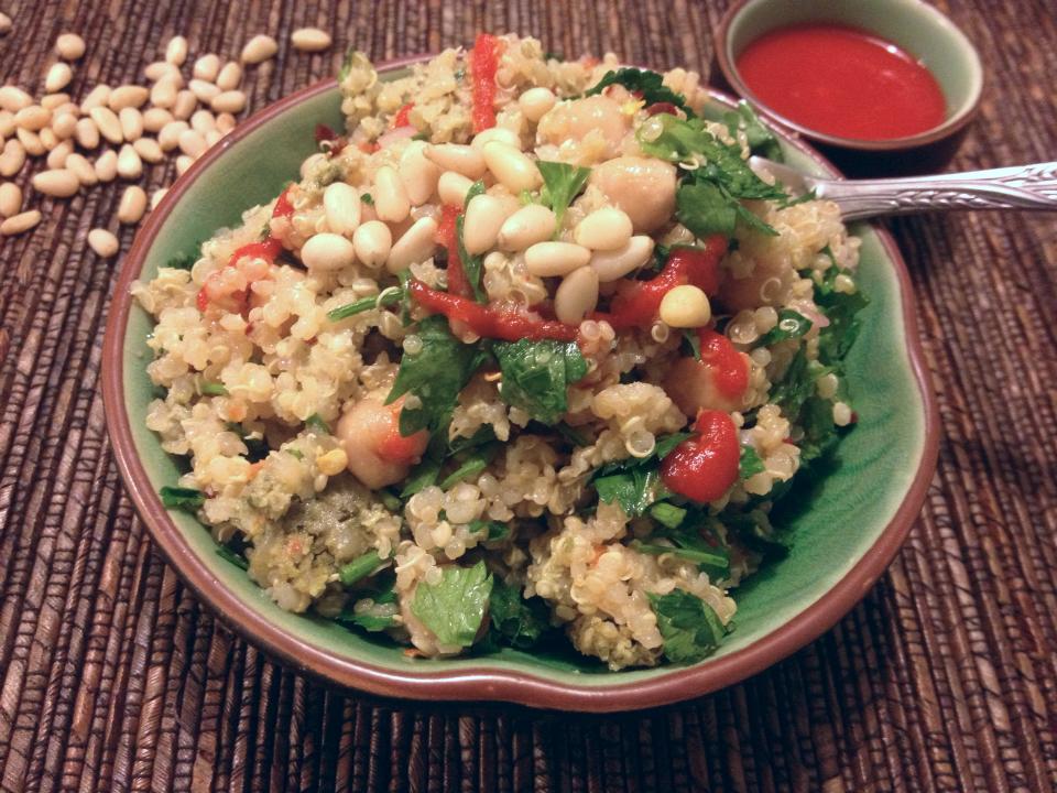 Sunshine Garden Herb Quinoa Salad