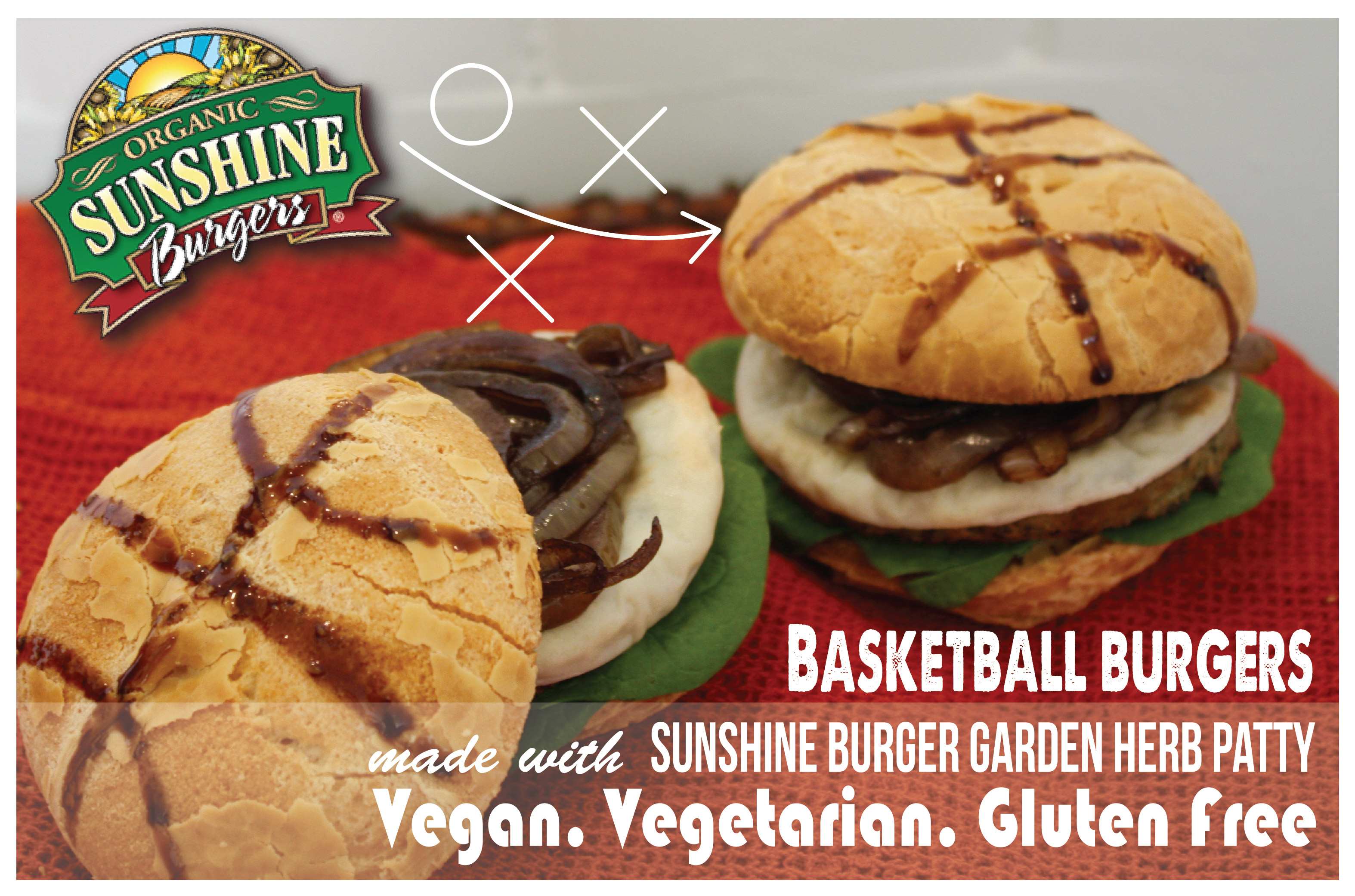Basketball Burgers for a Game Day Win!
