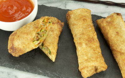 Plant-Based, Fried Spring Rolls to Share