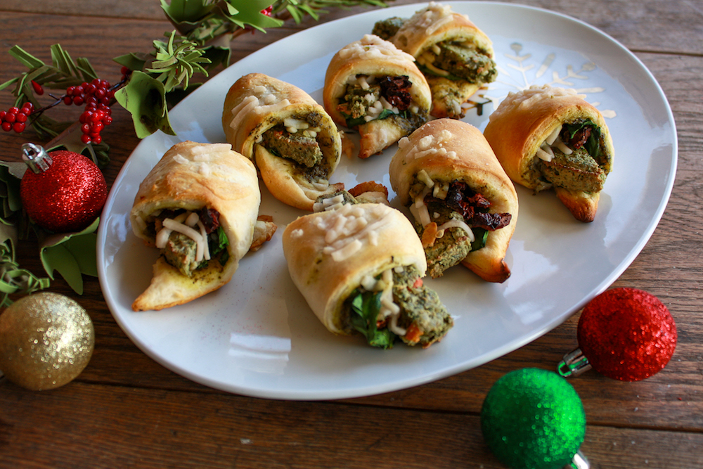 Stuffed Crescent Rolls to Share for the Holidays