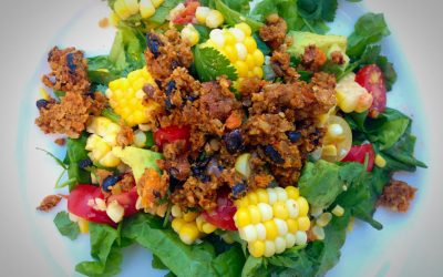 Loco South West Grilled Corn and Tomato Salad
